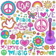 17149785-peace-and-love-flower-power-groovy-psychedelic-notebook-doodles-set.jpg 1,200×1,200 pixels