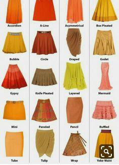 New fashion dresses ideas skirts Ideas Fashion Terminology, Fashion Terms, Trend Fashion, Diy Fashion, Fashion Sewing, Fashion Boutique, Runway Fashion, Fashion Women, Fashion Online