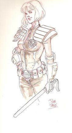 Psi-Judge Anderson by Dylan Teague