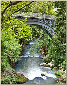 Bridge at Vouraekos river Arcadia Greece, Old Bridges, Different Perspectives, Greece Travel, Planet Earth, Garden Bridge, Places To Visit, Greek, Outdoor Structures