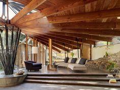 Modern Wohnbereich by DWYER DESIGN