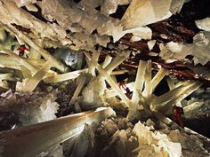 Cave of Crystals Chihuahua, Mexico