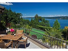 Nestled upon on Washington state's Lake Sammamish, this home is a rare gem of Bellevue real estate. Amongst the home's many luxur. Outdoor Living, Outdoor Decor, My Dream Home, Washington State, Acre, Architecture Design, Gem, Around The Worlds, Real Estate