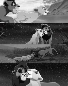 Kovu and Kiara Lion King 2 Disney Pixar, Disney And Dreamworks, Disney Animation, Disney Magic, Disney Art, Lion King 3, Lion King Fan Art, Lion King Movie, Disney Lion King