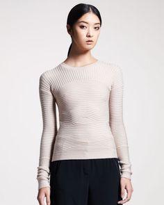 Alexander Wang Bandage-Knit Sweater -     this detailing is beautiful