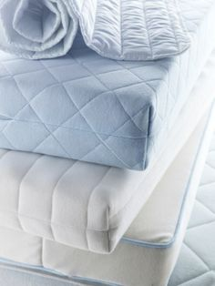 VYSSA children's mattresses are made with breathable materials and  removable, washable covers, for a healthy sleeping environment.  They meet the strictest safety standards in the world, so your baby can rest easy, and so can you. #Sleepys