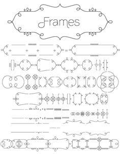font frames