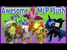 Awesome My Little Pony Plush Haul! Sunset Shimmer, Nightmare Moon, Pinkie Pie Bat! by Bin's Toy Bin - YouTube