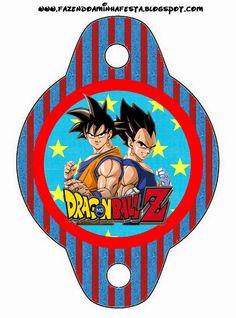 Dragon Ball Z: Imprimibles Gratis para Fiestas.