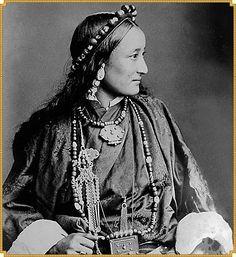 Tibetan Woman - Lhasa, Tibet, 1890