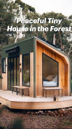 Cabin House Plans, Tiny House Cabin, Tiny House Plans, Cabin Homes, House Floor Plans, Tiny Houses For Rent, Little Houses, Tiny Cabins, Container House Design