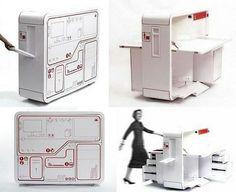 Sulankstomos darbo vietos prototipas (Video) :: Astronomija ir kosmonautika :: www.technologijos.lt