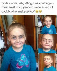 I wish I would've thought to do this with my niece....haha