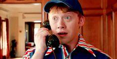 Rupert in pilot of Super Clyde Rupert Grint, Harry Potter Characters, Ron Weasley, Best Actor, Celebrity Crush, Sarcasm, Sick, Pilot, Note