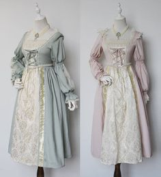 Recommendation: L'armoire de Versailles 【-Lucrezia-】 Vintage Classic Lolita OP Dress Anybody can generate a residence sweet home, even when . Old Fashion Dresses, Old Dresses, Pretty Dresses, Vintage Dresses, Fashion Outfits, Kawaii Fashion, Lolita Fashion, Cute Fashion, Fantasy Dress