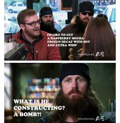 Duck Dynasty ~ I never watched a show until last week and now I know what I've been missing! This is hilarious!