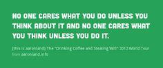 Belle citation dans l'esprit de #hackweek cette semaine.