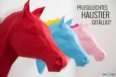 Einzigartige 3D Origami Dekoration für deine Wohnung.
