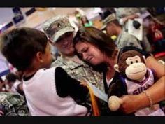 (New) Welcome Home, Troops! Homecoming Surprises 2012    Praying more troops are reunited with their family soon.