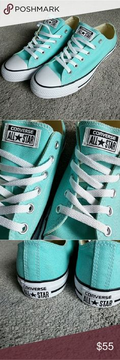Converse All-Stars Baby Blue Brand New! Converse Shoes Sneakers