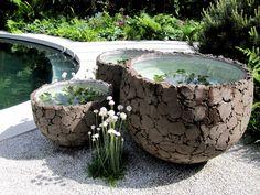 domani 'lavabox' feature in the thomas hoblyn designed garden chelsea