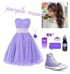 purple pleasure by knipphannah on Polyvore featuring polyvore mode style Converse Coach Belk & Co. Bling Jewelry Pin Show Casetify Hard Candy fashion clothing