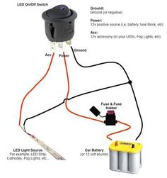 dorman 4 prong relay wiring for offroad lights page 2 tools 5 terminal relay wiring diagram image result for connecting led strip to 12 volt car battery power supply wiring diagram