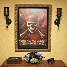 The Pirates of the Caribbean Suite, one of five Signature Suites at the Disneyland Hotel.