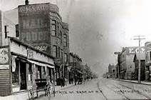 Downtown Hammond, 1940 Hammond Indiana, Street View, History, Historia