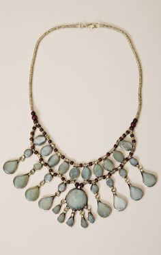 piccas necklace by TREASURE BLUE #planetblue