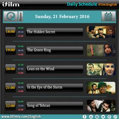 Enjoy today's iFilm schedule. www.ifilmtv.com/english