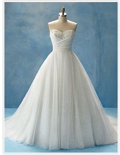 This is my dream dress. Alfred Angelo Disneyland Fairytale wedding dresses, Cinderella. I'm obsessed.