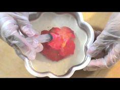 How to make an encapsulated rose /  COMO HACER UNA ROSA ENCAPSULADA