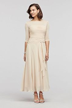 Tea Length Chiffon Mother of Bride/Groom Dress with Pleated Bodice Style... David's Bridal http://www.amazon.com/dp/B01CAIRK6Q/ref=cm_sw_r_pi_dp_Cyx9wb0Y2JPQC