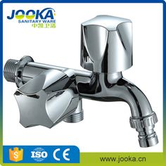 Plastic handle water saving triangle handle basin taps for washing ...