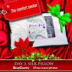Day 3 - Silk Pillow