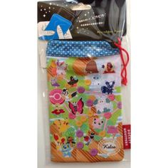 Pokemon Center 2014 Sylveon Pumpkaboo Goomy Fennekin Eevee & Friends Micro Fiber Mobile Phone Pouch