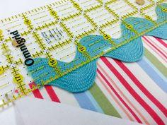 Snapshots Quilt-Along Mini Quilt Block 6 - Out of the Blue Quilts by Sondra Davison Blue Quilts, Mini Quilts, Rick Rack, Fat Quarter Shop, Childrens Hospital, Quilt Blocks, Crochet Necklace, Miniatures, Stitch
