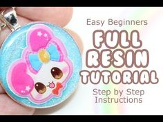 HOW TO - Make Resin Charms Full Tutorial - YouTube