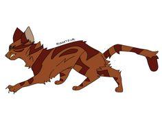 Russetfur by ukariwarriorcats on tumblr
