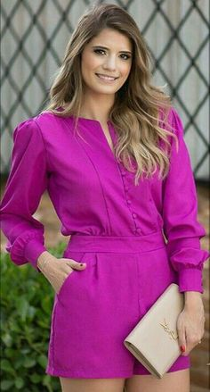 Only Fashion, Womens Fashion, Stylish Outfits, Fashion Outfits, Playsuit Romper, Casual Jumpsuit, Well Dressed, Casual Looks, Short Dresses