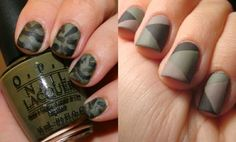 BEAUTY & STYLE TODAY: Тренд. Nail art. Military