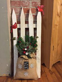 Christmas Fence 5