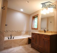 Bathroom Remodel By J Brothers Home Improvement In Maple Grove, MN   Call  763