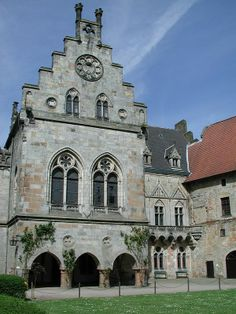 "bentheim germany | Bad Bentheim - ""Kronenburg"", part of Bentheim Castle"