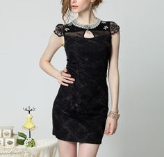 Sexy Little Black Lace Mini Party or Prom . Also by LAmei on Etsy, $98.00