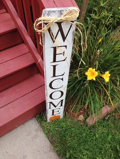 Fall Welcome Sign by NorthernPalletDesign on Etsy
