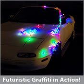 LED Magnets = Digital Graffiti!! Wish ArtScene was an evening teen event because they'd love this. 20 /$8