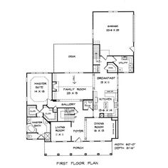 House Plan chp-15732 at COOLhouseplans.com ❤ liked on Polyvore featuring fillers, backgrounds and floor plans