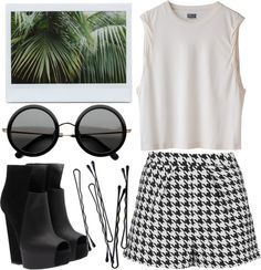 """tropical"" by jesicacecillia ❤ liked on Polyvore"